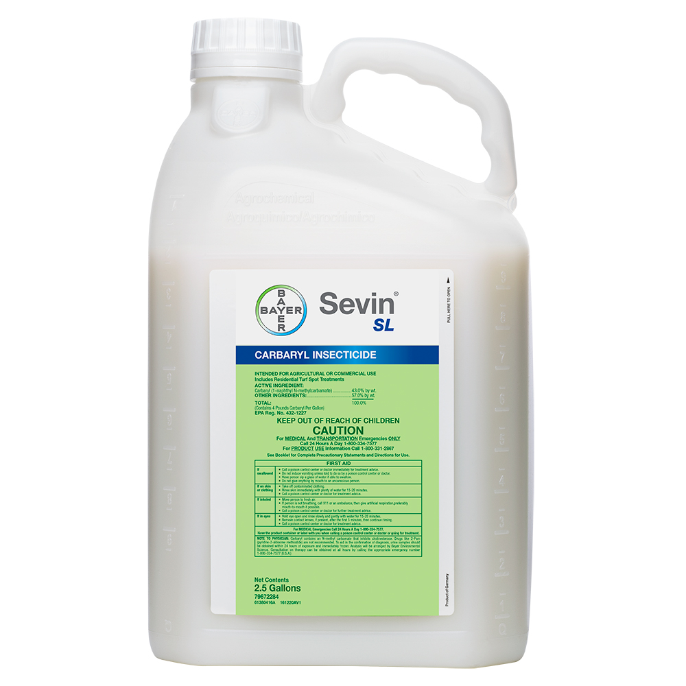 Sevin SL 25 Gallon Bottle Product Package