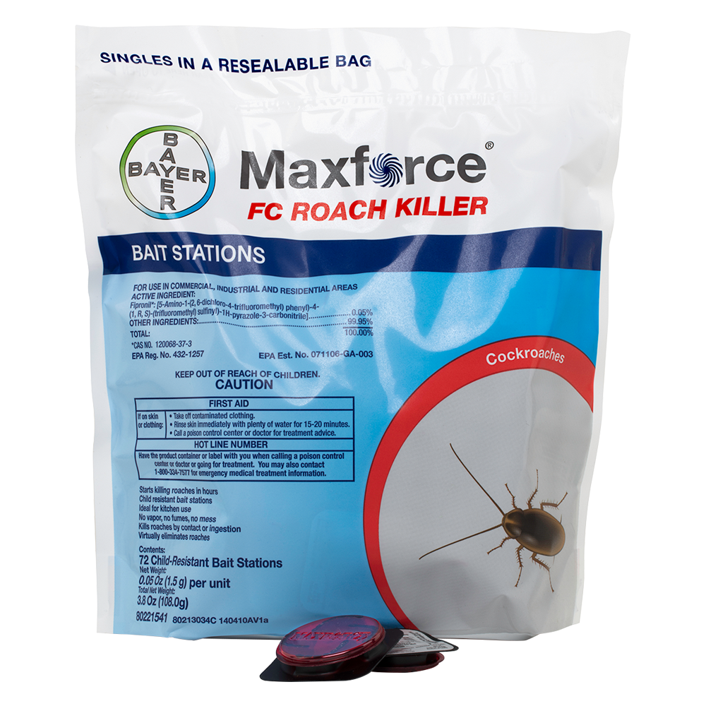 Maxforce FC Roach Killer Bait Station Product Package