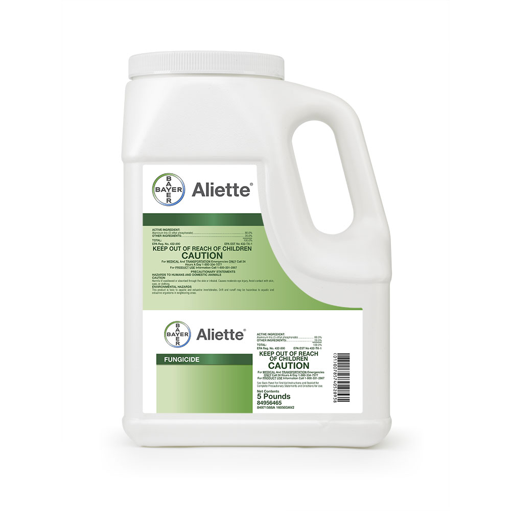 Aliette 5 Lb Bottle Product Package